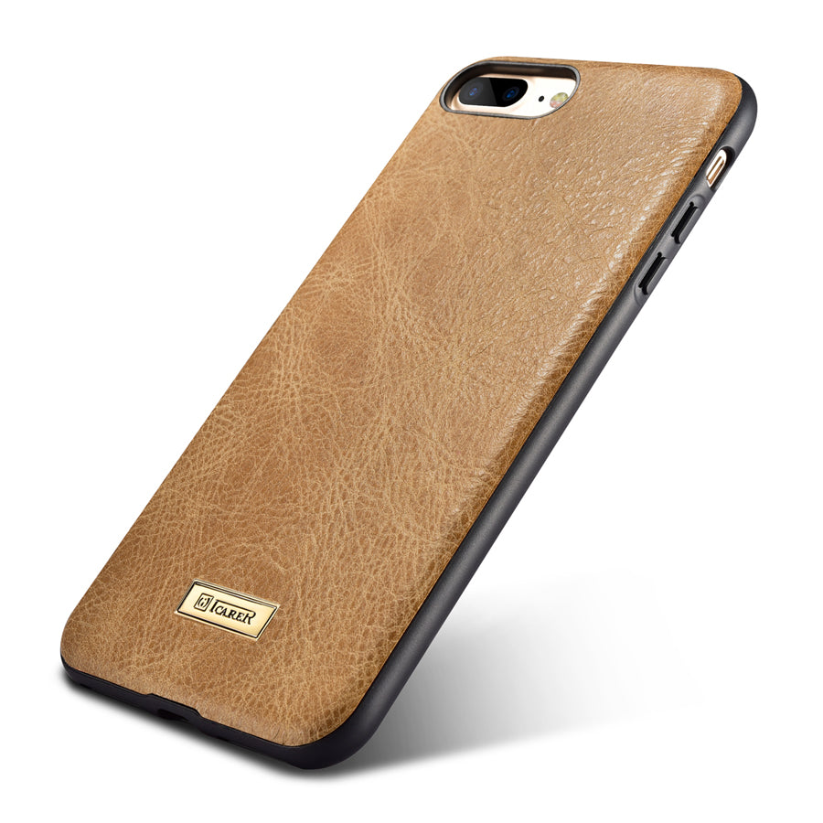 Genuine Leather Back Case For iPhone 7 8/ Plus