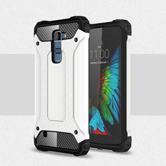 LG K10 Case Shockproof Plastic & TPU Phone Case For LG K10 Cover For LG M2 K420N K430DS Protective Armor