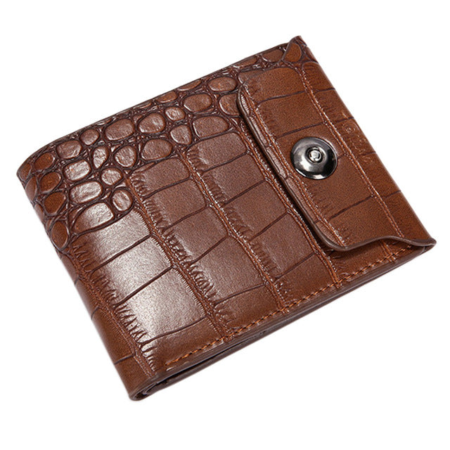 Luxury Men Leather Wallet