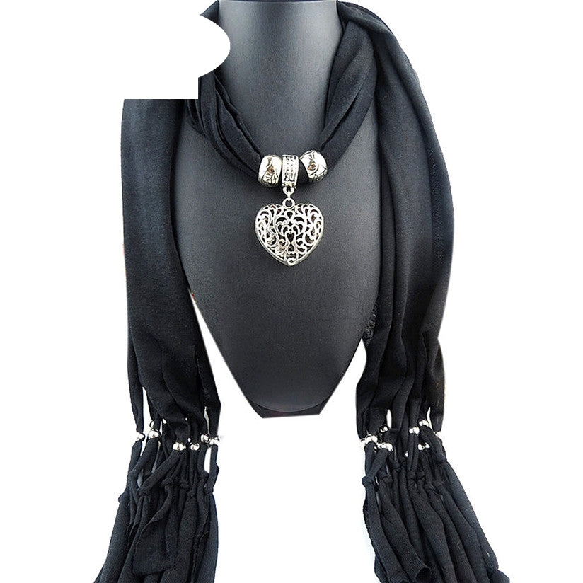 Winter Women Necklace Scarf