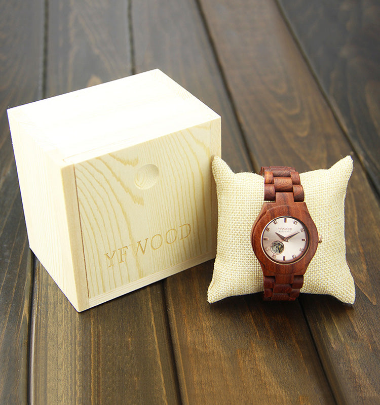 Matthew Wiles Luxury Wooden Automatic Watch - MW8050