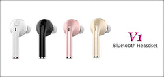 Mini Bluetooth Wireless Earphone Invisible Earbud In Ear Handsfree Headsets USB Charger for Phone