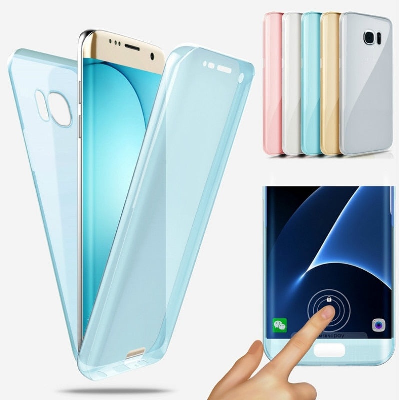 360 Full body TPU Case For Huawei P20 Lite PRO P10 Lite P8 P9 Lite 2017