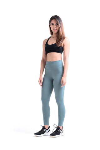 MKLZ FUSE II Leggings Yoga Pants Activewear Athleisure Nike Adidas Lululemon Alo Lorna Jane Alo Yogi Tights Malaysia Gymshark Ivy Park PE Nation Teal