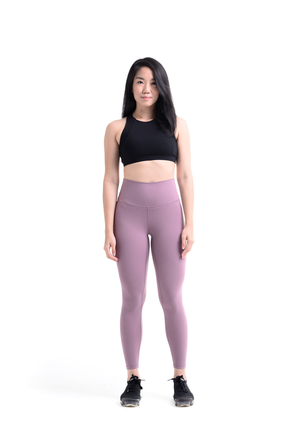 MKLZ FUSE II Leggings Yoga Pants Activewear Athleisure Nike Adidas Lululemon Alo Lorna Jane Alo Yogi Tights Malaysia Gymshark Ivy Park PE Nation Purple