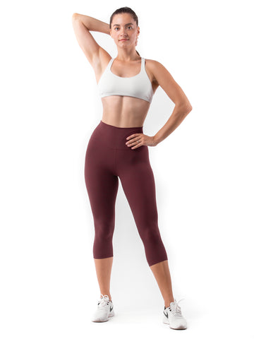 FUSE II Leggings Crop - Dark Scralet