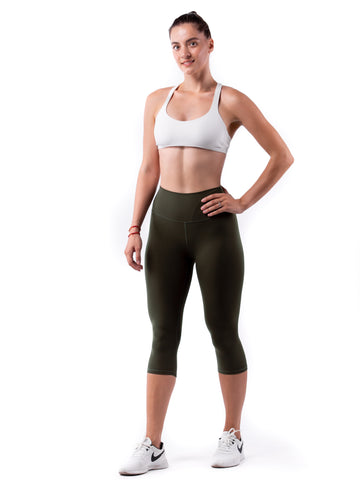 FUSE II Leggings Crop - Rainforest