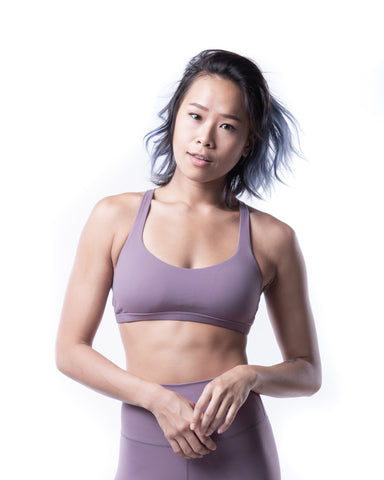 FUSE II Sports Bra - Lavender Purple