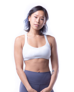 FUSE II Sports Bra - White