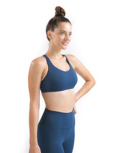 FLOW Sports Bra - Paris Blue