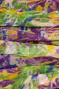 Abstract Multicolour Printed Scarf - Pashma Outlet