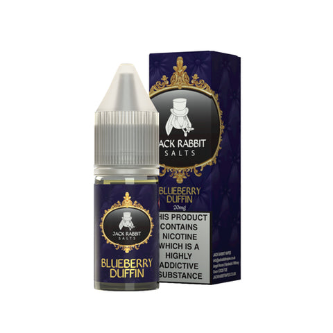 Jack Rabbit Salts - Blueberry Duffin 10ml (Nic Salt)