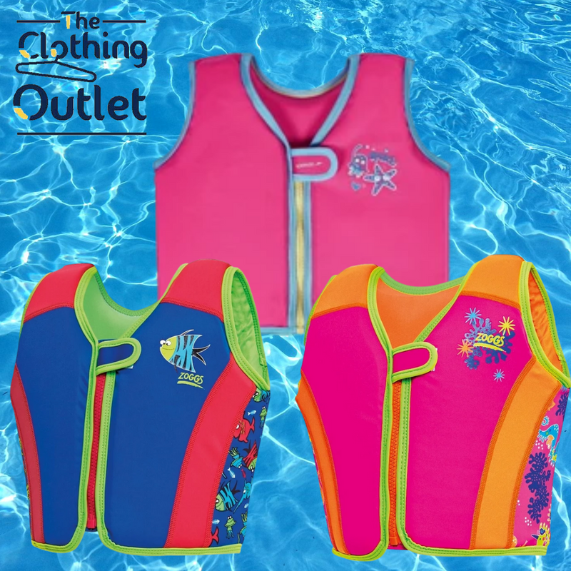 Make a splash with our swim vests
