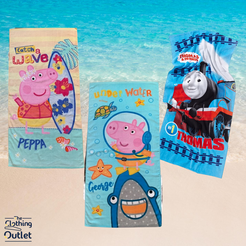 Your Kid's Favourite Character Towels