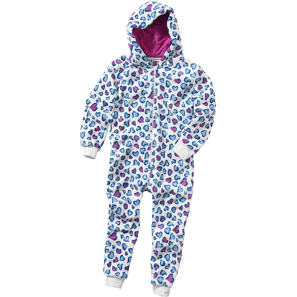 Girls Heart Onesie (Sale)