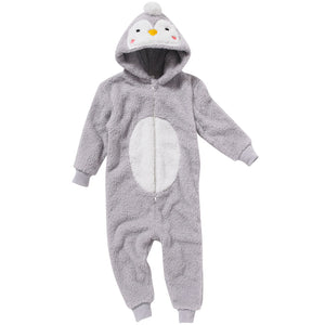 Girls Baby Penguin Onesie