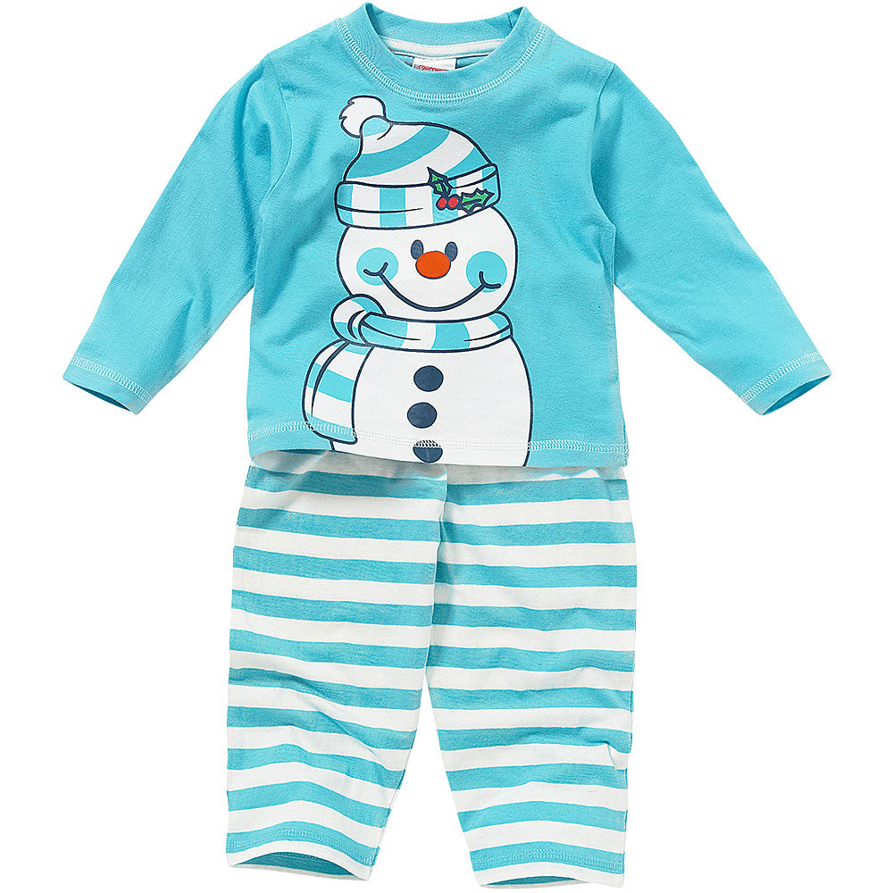 Childs Snowman Pyjamas