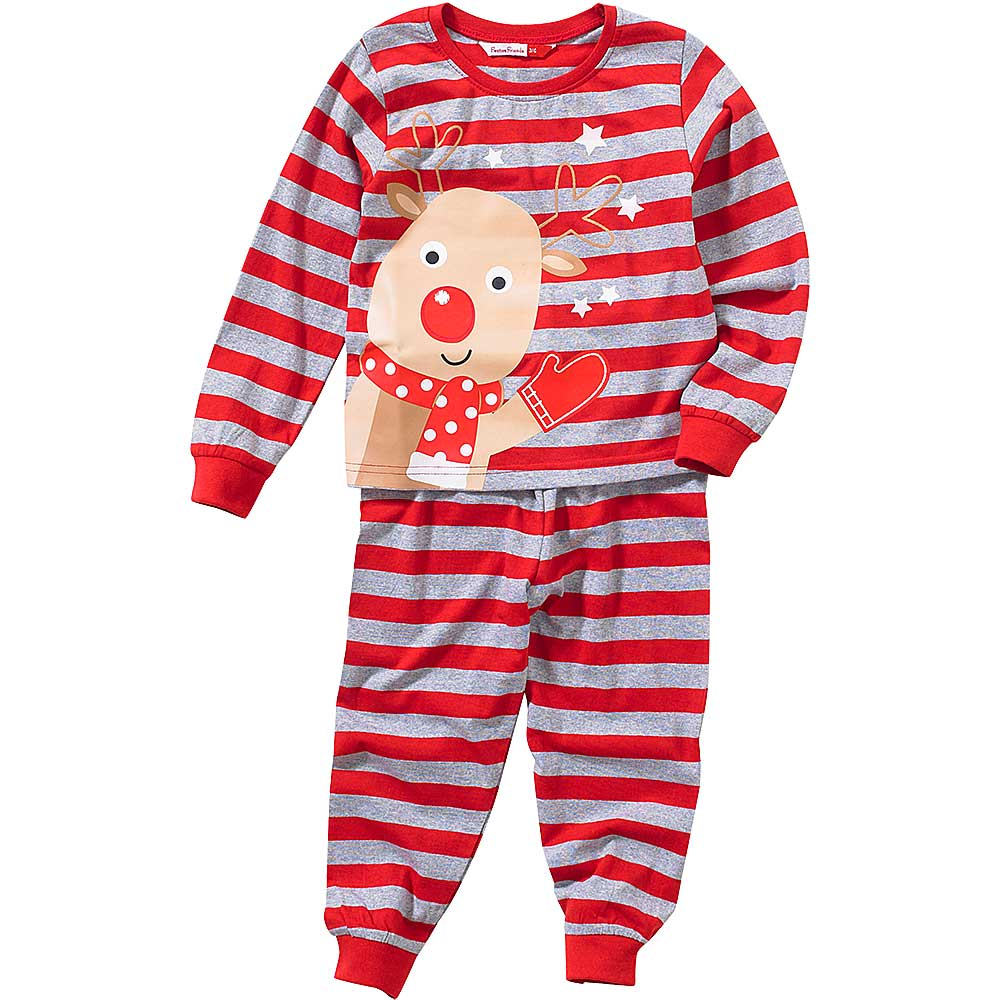 Childs Christmas Reindeer Pyjamas