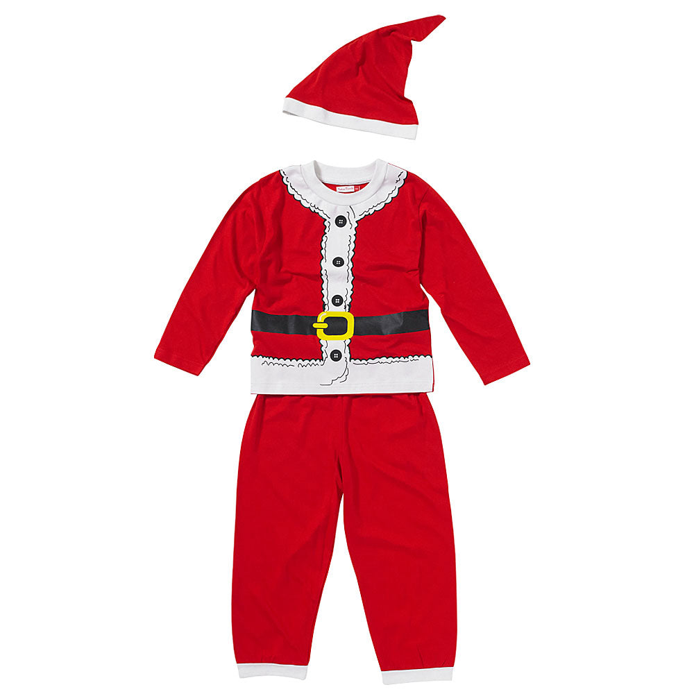 Childs Father Christmas Dress Up Pyjamas