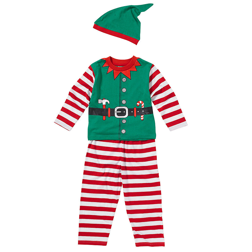 Christmas Santas Little Helper Pyjamas - By The ClothingOutlet – www.theclothingoutlet.co.uk