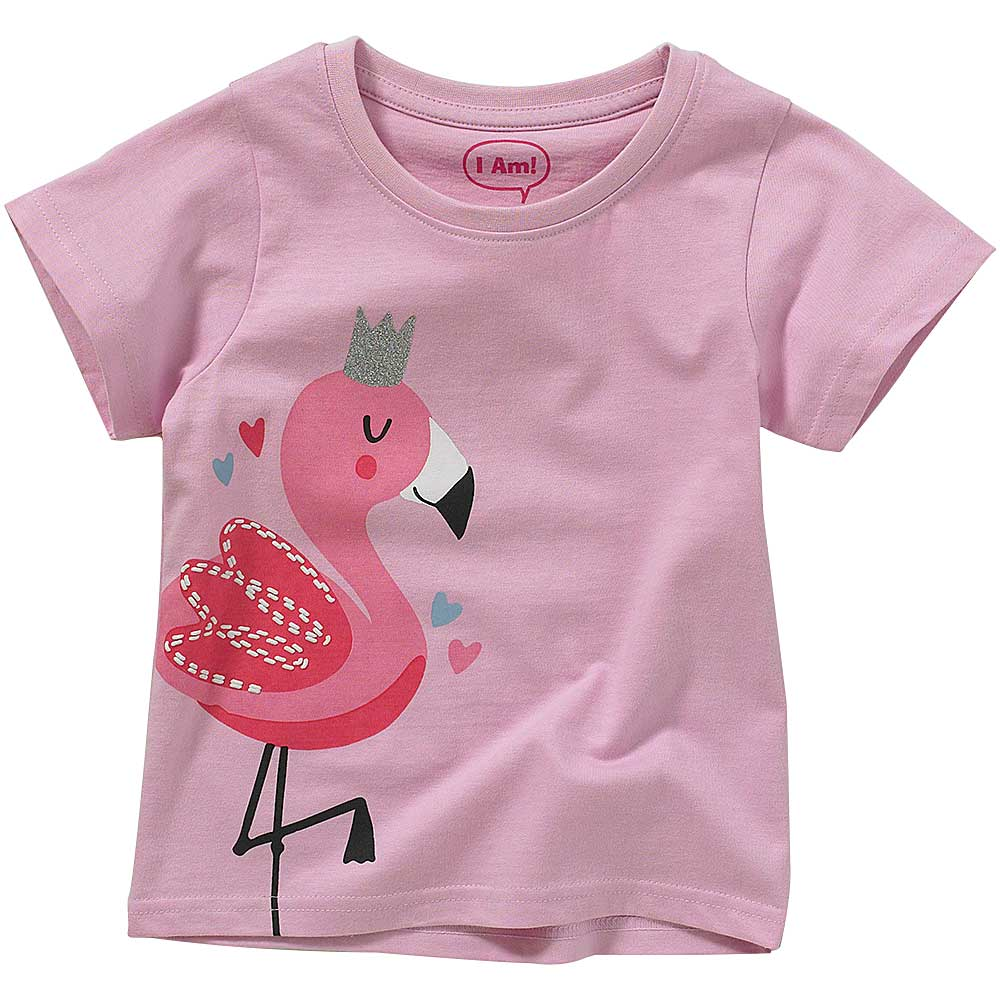 Girls Flamingo T-Shirt