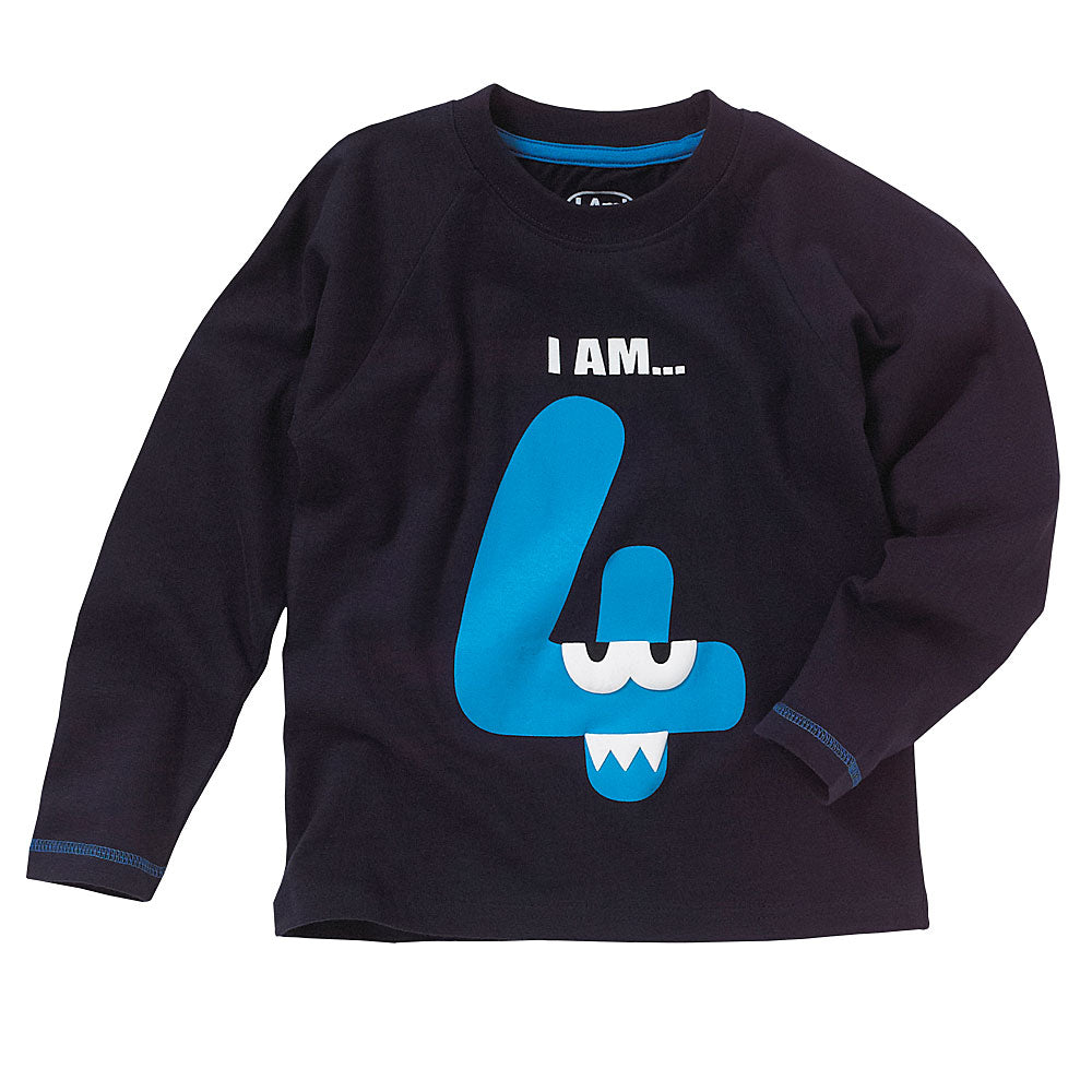 Boys I am 4 four top - By The ClothingOutlet – www.theclothingoutlet.co.uk