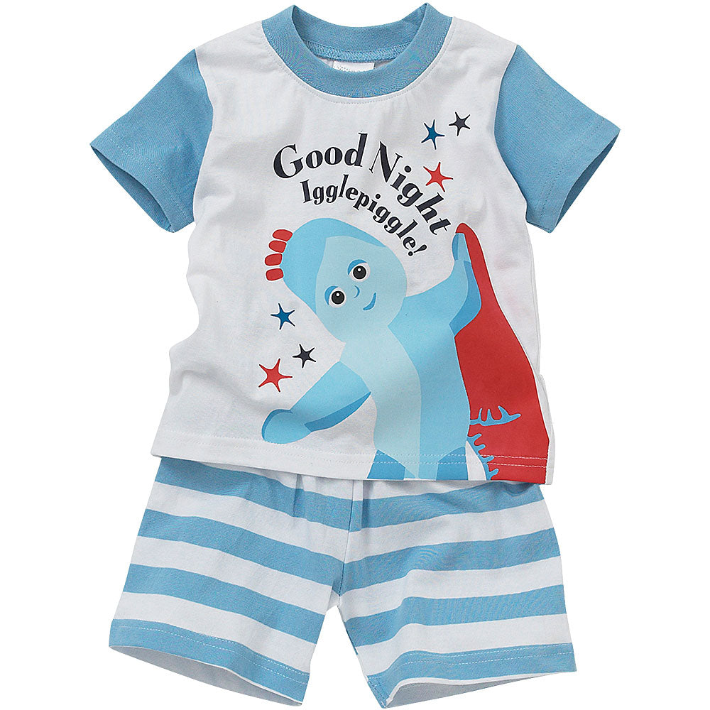 In The Night Garden Iggle Piggle Boys Shortie Pyjama