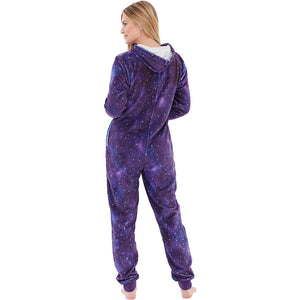 Womens Digital Print Unicorn Onesie