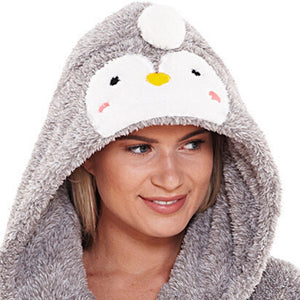 Women's Penguin Dressing Gown