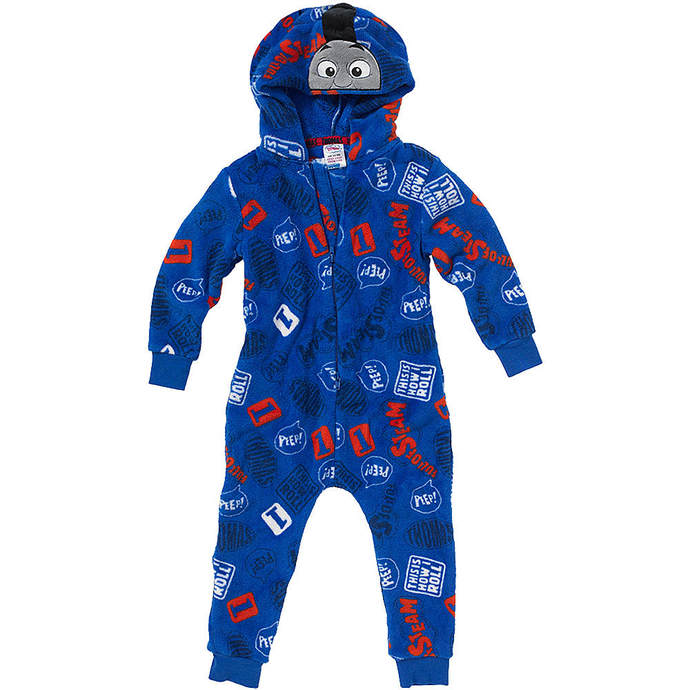 Thomas & Friends Boys I'm The Cheeky One Printed Fleece Onesie