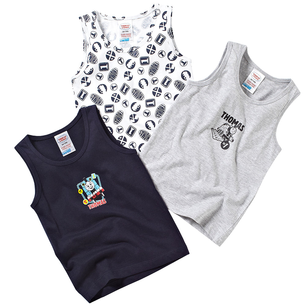 Thomas & Friends 3 Pack Vests