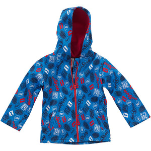 Thomas & Friends Boys Fleece Lined Hooded Jacket
