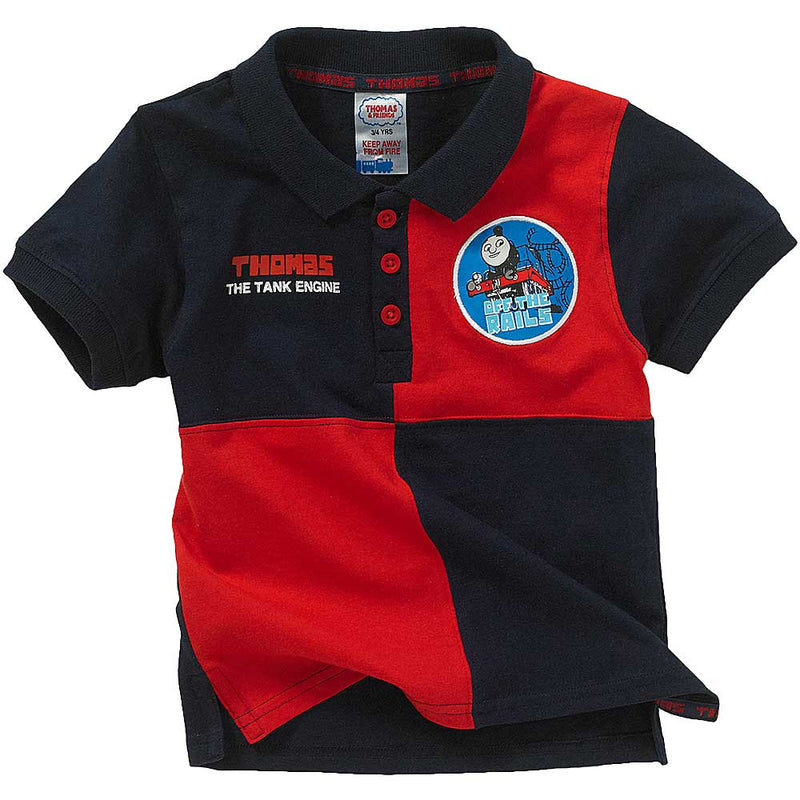 Thomas & Friends Checkered Polo Shirt