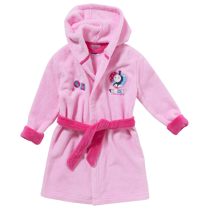 Thomas & Friends Girls Fleece Dressing Gown