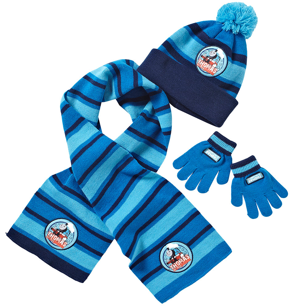 Thomas & Friends Winter Hat Scarf Gloves Set