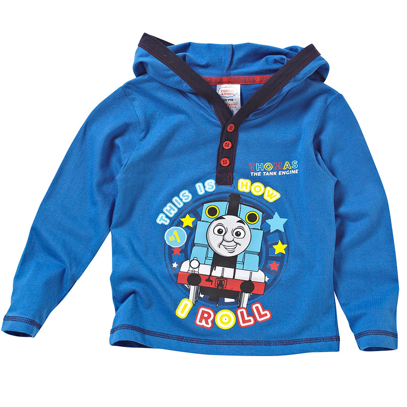 Thomas & Friends Long Sleeve Hooded Top