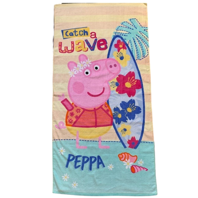 Peppa Pig Wave Beach Towel