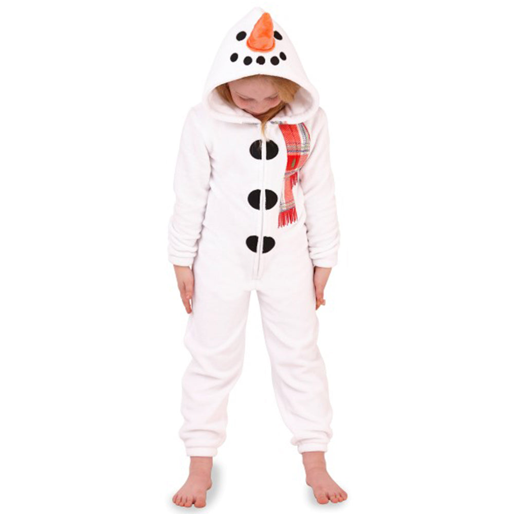 Childs Christmas Snowman Onesie
