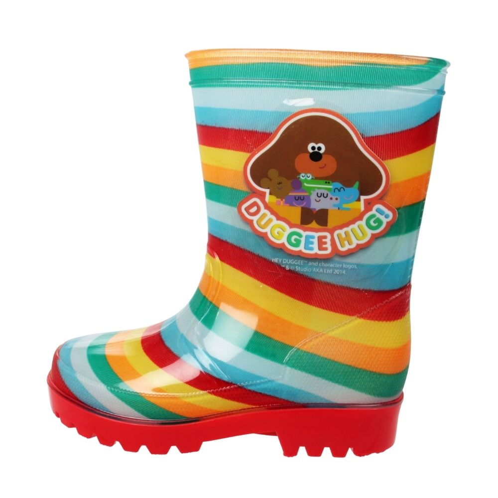Hey Duggee Rainbow Wellies