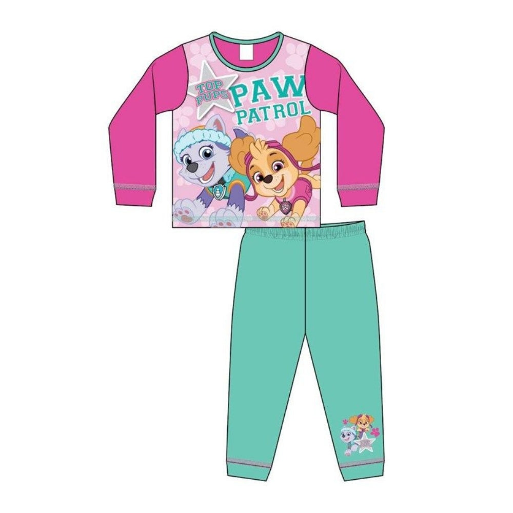 Paw Patrol Girls Top Pups Pyjamas
