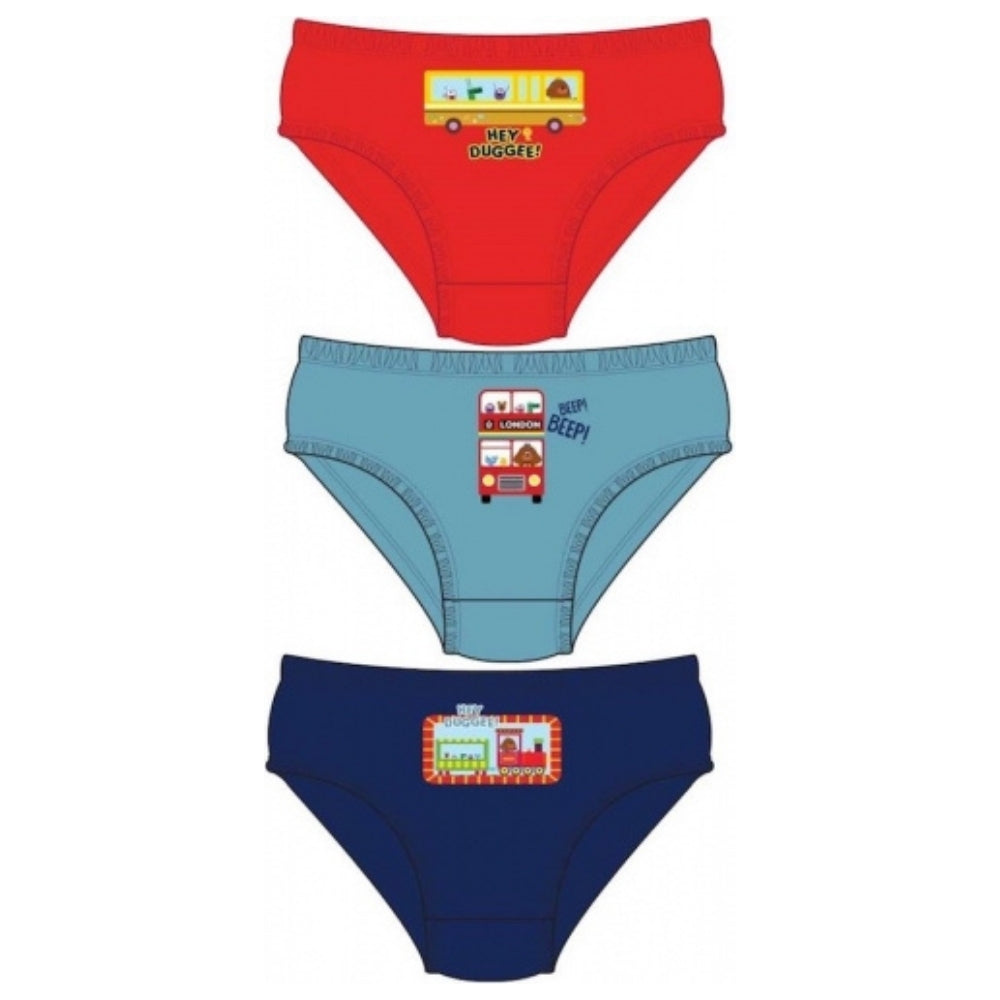 Hey Duggee Boys 3 Pack Briefs