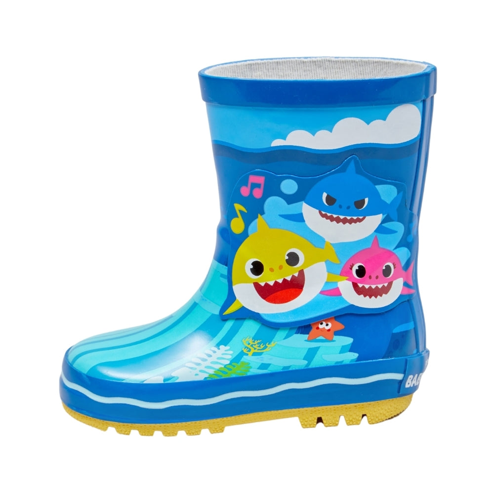 Baby Shark Wellies