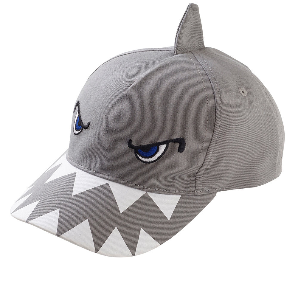 Boys Shark 3D Peak Cap