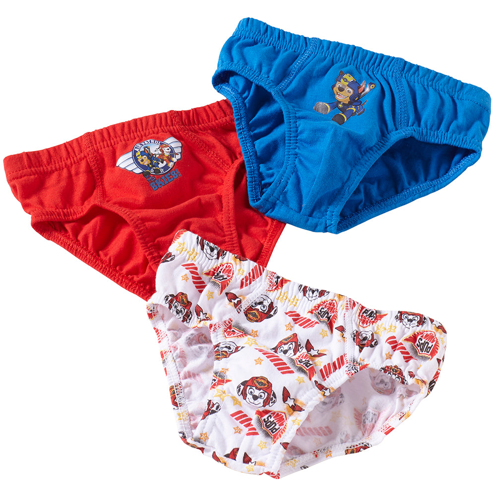 Paw Patrol Boys 3 Pack Briefs