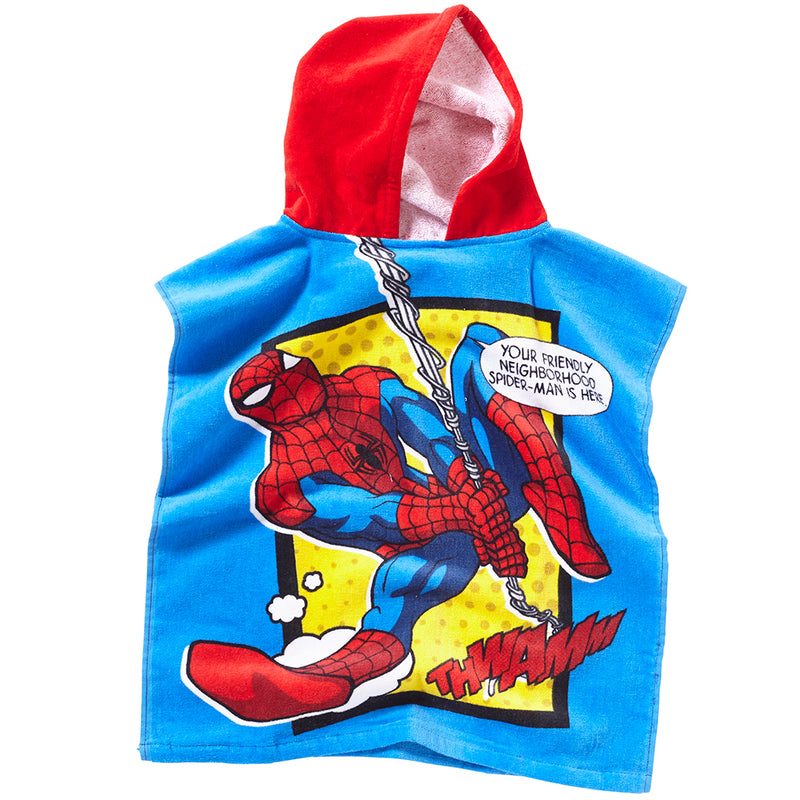Spiderman Towelling Poncho