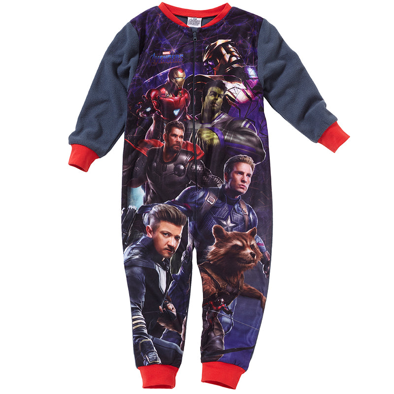 Avengers Fleece Onesie
