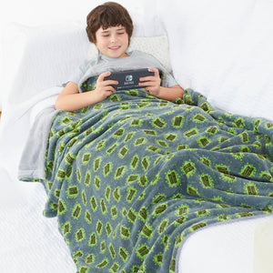 Gaming Fleece Blanket Throw