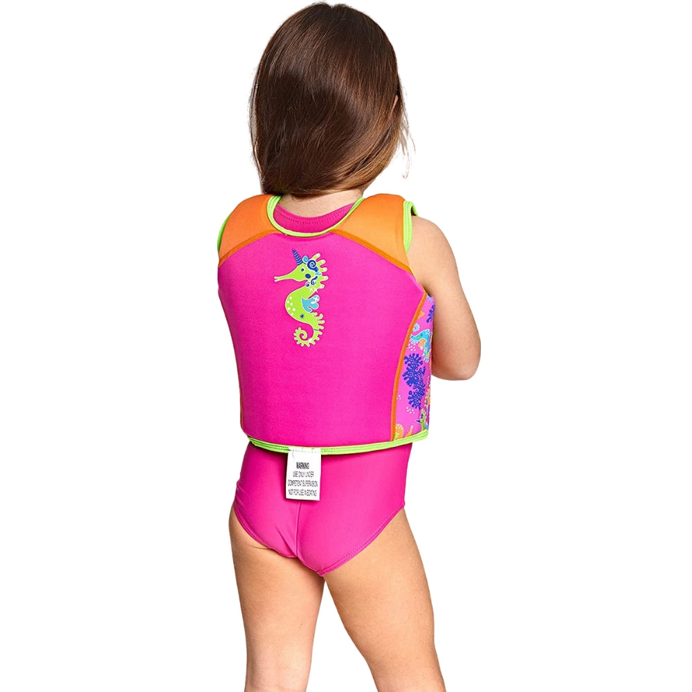 Zoggs Girls Learn To Swim Swim Vest