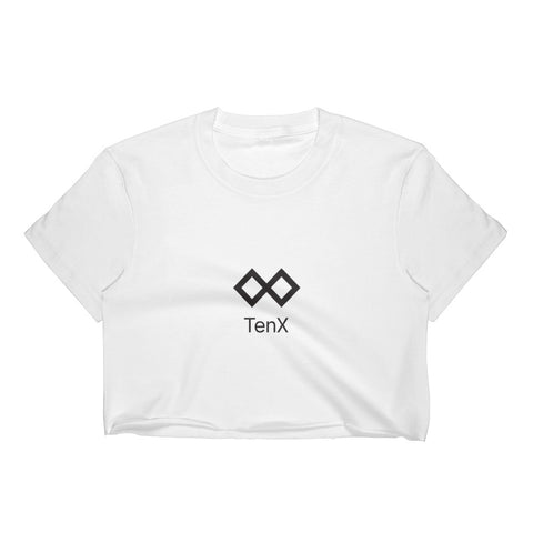 Women's Crop Top - White