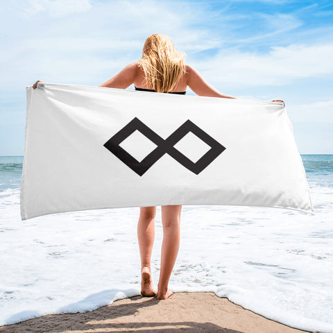 Beach Towel Horizontally Logo